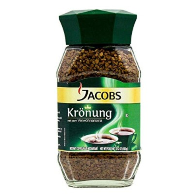 Jacob's Coffee Jacobs Kronung Instant, 7.05-Ounce (Pack of 2) by Jacob's Coffee