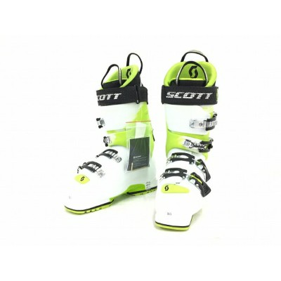 美品 【中古】 SCOTT スコット G1 130 POWERFIT WTR WHITE/GREEN 26.5cm スキー ブーツ T3573260