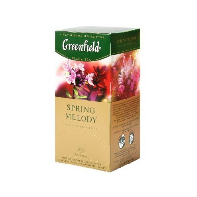Greenfield Tea, Spring Melody, 25 Count by Greenfield