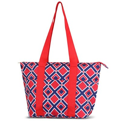 zodaca Large Insulated Lunch Toteバッグ 2359547