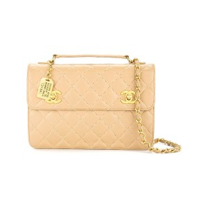 Chanel Pre-Owned チェーン ハンドバッグ - ニュートラル