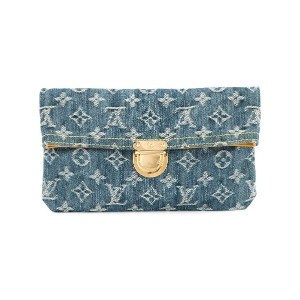 Louis Vuitton Vintage Plate クラッチバッグ - ブルー