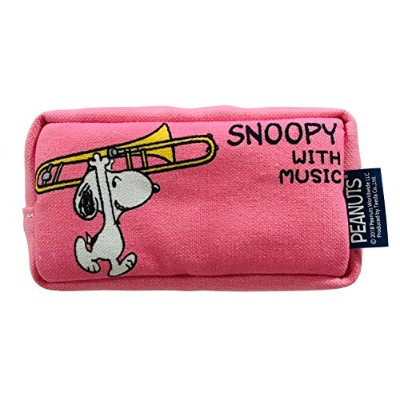 SNOOPY with Music スヌーピー マウスピースポーチ 限定品《コットンキャンディピンク》 (トロンボーン)