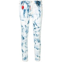 Dsquared2 Runaway cropped jeans - ブルー
