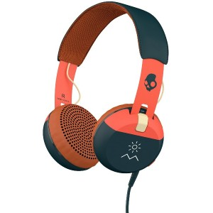SKULLCANDY Grind○Grind Explore/orange/navy ttech 音響機器