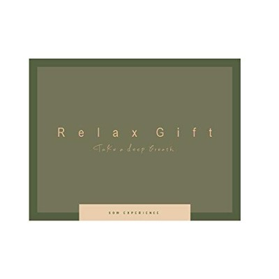 SOW EXPERIENCE(ソウ・エクスペリエンス)体験型カタログギフト Relax Gift(GREEN)