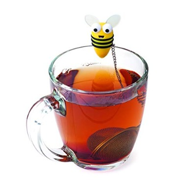 Joie Bumble Bee 18 /8ステンレススチールLoose Leaf Teaボール茶漉Strainer