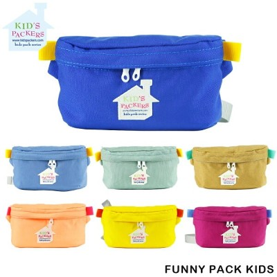 KIDS PACKERS キッズパッカーズ FREDRIK PACKERS ボディバッグ ウエストポーチ 子供用 リンクコーデ クリスマス 誕生日 プレゼント ギフト FUNNY PACK KIDS...