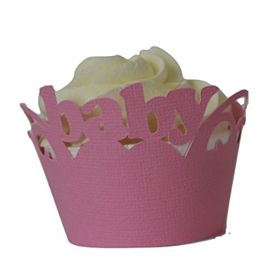 """All About詳細Baby Cupcake Wrappers、12セット 3"""" in top diameter, 2"""" in bottom diameter and up to 2""""..."""