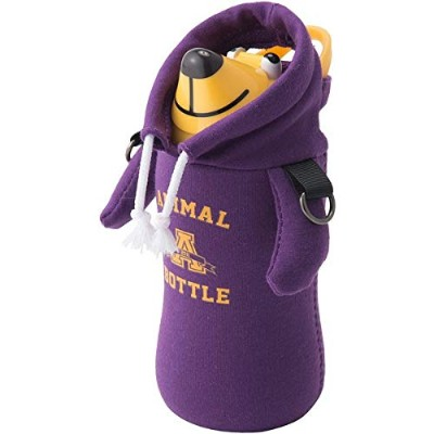 【限定品】THERMO MUG (サーモマグ) ANIMAL BOTTLE COLLEGE (パープル(PURPLE))