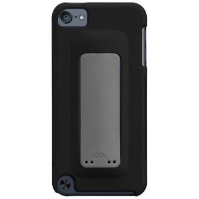 Case-Mate 日本正規品 iPod touch 5th 6th Generation 共用 Snap Case, Black / Titanium Grey スナップ ケース, ブラック...
