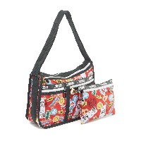 LeSportsac DELUXE EVERYDAY BAG○7507G356 Mario travel カバン・バッグ