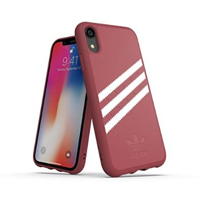 Adidas 32820 OR GAZELLE Moulded Case PU SUEDE FW18 pink 〔iPhone XR用〕