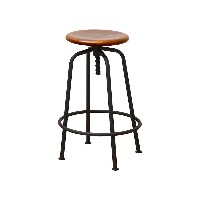 CHIC FURNITURE Stool○ANS2389BR ブラウン チェア・ベンチ・スツール