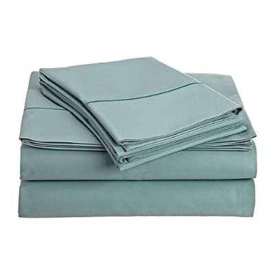 (California King, Blue) - Chateau Home Collection 800-Thread-Count Egyptian Cotton Deep Pocket...