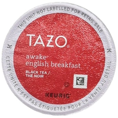 Tazo Awake English Breakfast Black Tea K-Cup (60 single-serve K-Cup Pods) 141[並行輸入]