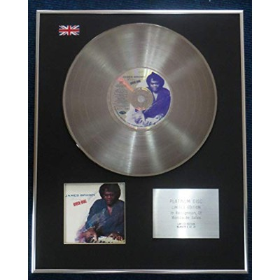 James Brown - Limited Edition CD Platinum LP Disc - Love Over-Due