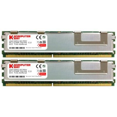 Komputerbay 4 GB ( 2 x 2gb ) ddr2メモリHP Workstation xw6400 xw6600 xw8400 ddr2 667 MHz FBDIMM
