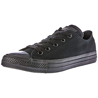 [コンバース] CONVERSE CANVAS ALL STAR OX  BLACK MONOCHROME (ブラックモノクローム/US5(24cm))
