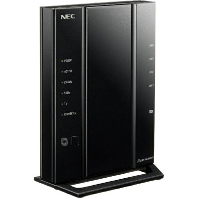 NEC エヌイーシー 無線LANルーター(Wi-Fiルーター) 親機単体 [無線11ac/n/a/g/b・有線LAN Android/iOS/Mac/Win]  1733+800Mbps Aterm...