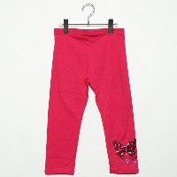 【SALE 50%OFF】デシグアル Desigual GIRL KNITTED LEGGINS (Pink/Red)