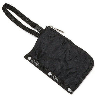 CURVED COIN POUCH/オニキス/レスポートサック(LeSportsac)