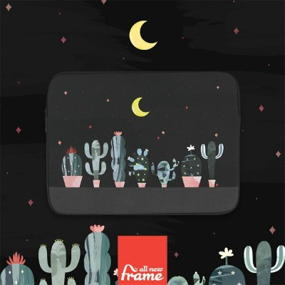 All New Frame Cactus in the night iPadケース ipad ケース ipad ポーチ iPad Air2 ケース iPad Air ケース iPad ケース...