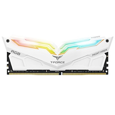 チーム16 GB (2 x 8 GB) t-force Night Hawk RGB ddr4 pc4 – 24000 3000 MHzデスクトップメモリモデルtf2d416g3000hc16cdc0