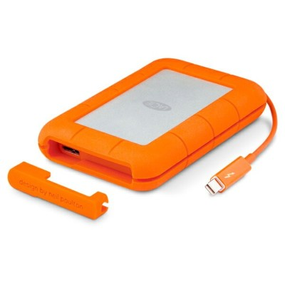 《在庫あり》Lacie(ラシー) Rugged Thunderbolt+USB3.0 1TB [STEV1000400]