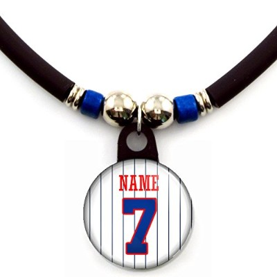 Minnesota Personalized Baseball Jerseyネックレスwith your name and number