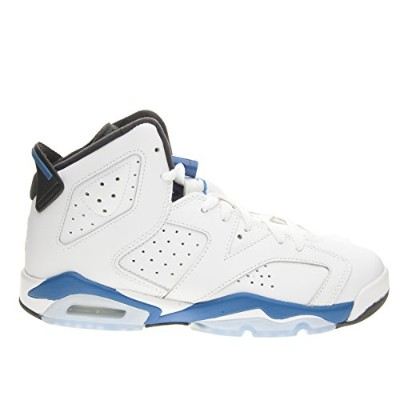 "White Air Jordan 6 Retro (BG) ""Sport Blue"" (384665-107) 36 -"
