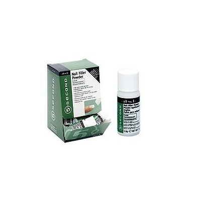 IBD 5 Second Nail Filler Powder - Clear 4 g 12pc Dsply by IBD [並行輸入品]