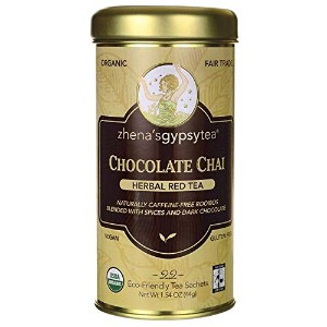 ZHENA`S GYPSY TEA Chocolate Chai Harbal Red Tea [並行輸入品]