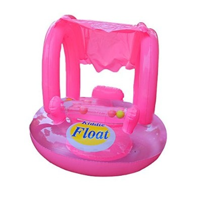 Sealive Inflatable Baby Swimming Pool Swim Seat Float Seat Boat Ring With Sunshade Protect from...