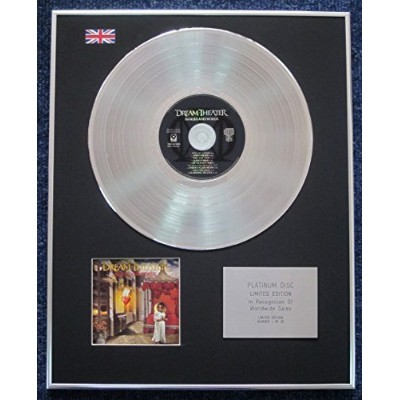 Dream Theater - Limited Edition CD Platinum LP Disc - Images and Words