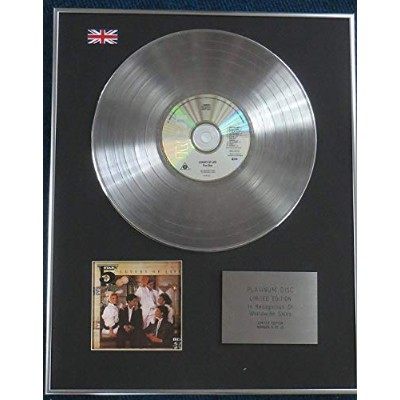 FIVE STAR - Limited Edition CD Platinum LP Disc - LUXURY OF LIFE