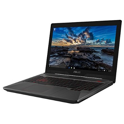ASUS ゲーミングノートパソコン (Core i7-7700HQ/GTX 1050/8GB・HDD 1TB・SSD 128GB/15.6インチ)【日本正規代理店品】 FX503VD-E4047T/A