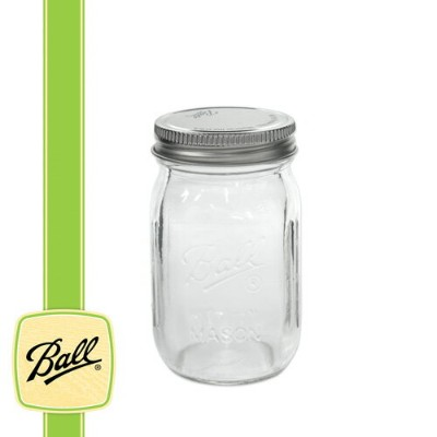 [Outlet SALE] ボールメイソンジャー ミニジャー 118ml / Ball Mason Jar Mini jar 4oz