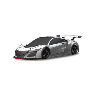 1/10 V-ONE R4s II Acura NSX GT3レースカー ボディセット【39213】 京商