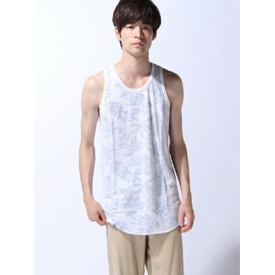 【SALE/30%OFF】ZIP FIVE (M)ZIP FIVE 裏プリントロングタンクトップ ジップファイブ カットソー【RBA_S】【RBA_E】