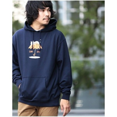 BEAMS T 【SPECIAL PRICE】BEAMS T / Shadow Graphic Hoodie ビームスT カットソー【送料無料】
