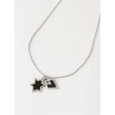 BEADED DNA BEADED DNA/(W)Lady Like Necklace トーホー アクセサリー ネックレス ブラック