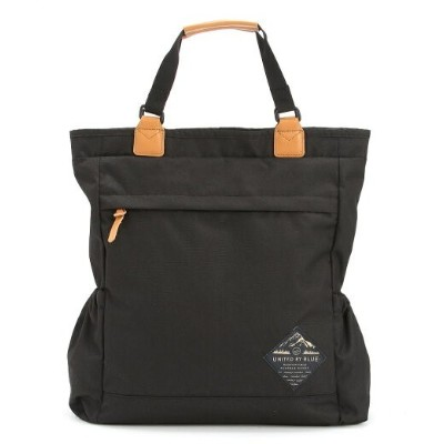 United By Blue United By Blue/(U)SUMMIT CONVERTIBLE TOTE ユナイテッドバイブルー バッグ トートバッグ ブラック【送料無料】