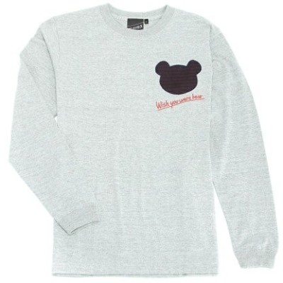 【SALE/10%OFF】【SPECIAL PRICE】SOUVENIR / Wish You Bear Long Sleeve Tee BEAMS ビームス ビームスT カットソー【RBA_S】...