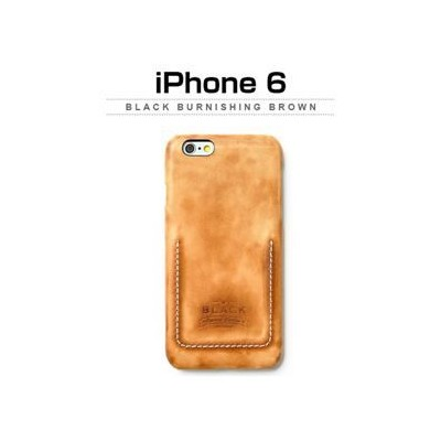 その他 Zenus iPhone 6 Black Burnishing Brown ds-2055489