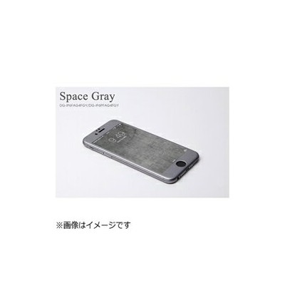 DEFF ディーフ iPhone 6 Plus用 W-FACE High Grade Glass&Aluminum Screen Protector スペースグレー DG-IP6PFAG4FGY...