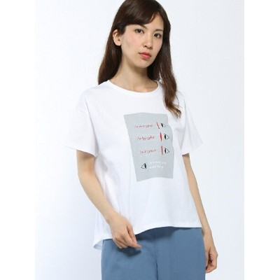 Conges payes hesoさんイラストTシャツ コンジェ ペイエ アデュー トリステス カットソー【送料無料】