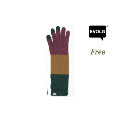 EVOLG/エボルグ LET2354 エボルグ(エヴォルグ) RICO LONG for Ladies LET 【Freeサイズ】(WINE x CAMEL x FOREST)