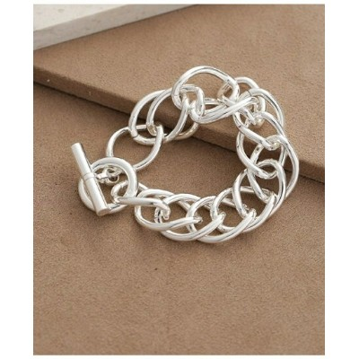 【SALE/40%OFF】on the sunny side of Large Dbl Curb Chain Bracelet ナノユニバース アクセサリー【RBA_S】【RBA_E】【送料無料】