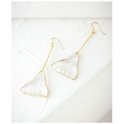 【SALE/40%OFF】AUGUSTINE PARIS Gingko Pierce ナノユニバース アクセサリー【RBA_S】【RBA_E】【送料無料】
